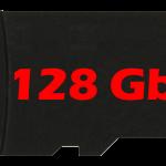 Micro sd da 128 GB
