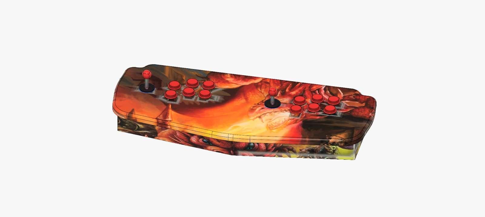 Console Plancia Arcade