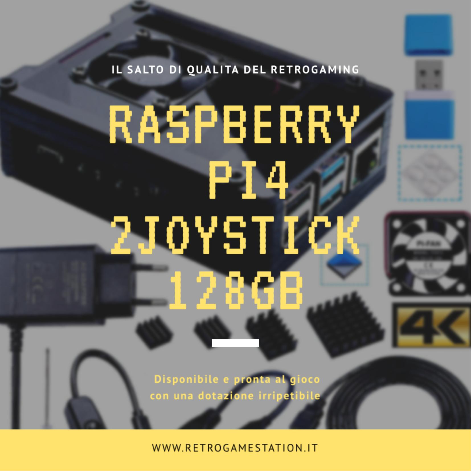 Console Kit Raspberry Pi 4