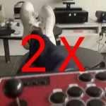 2x joystick arcade usb