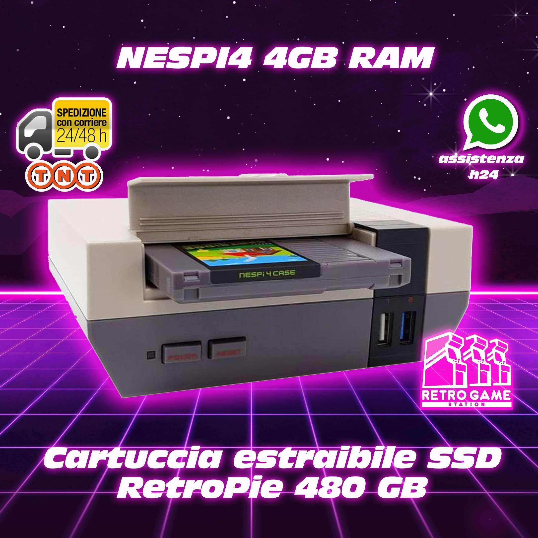 nespi4 raspbery pi 4 4gb ram